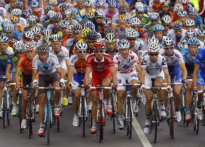 They were almost as competitive as the Tour de France