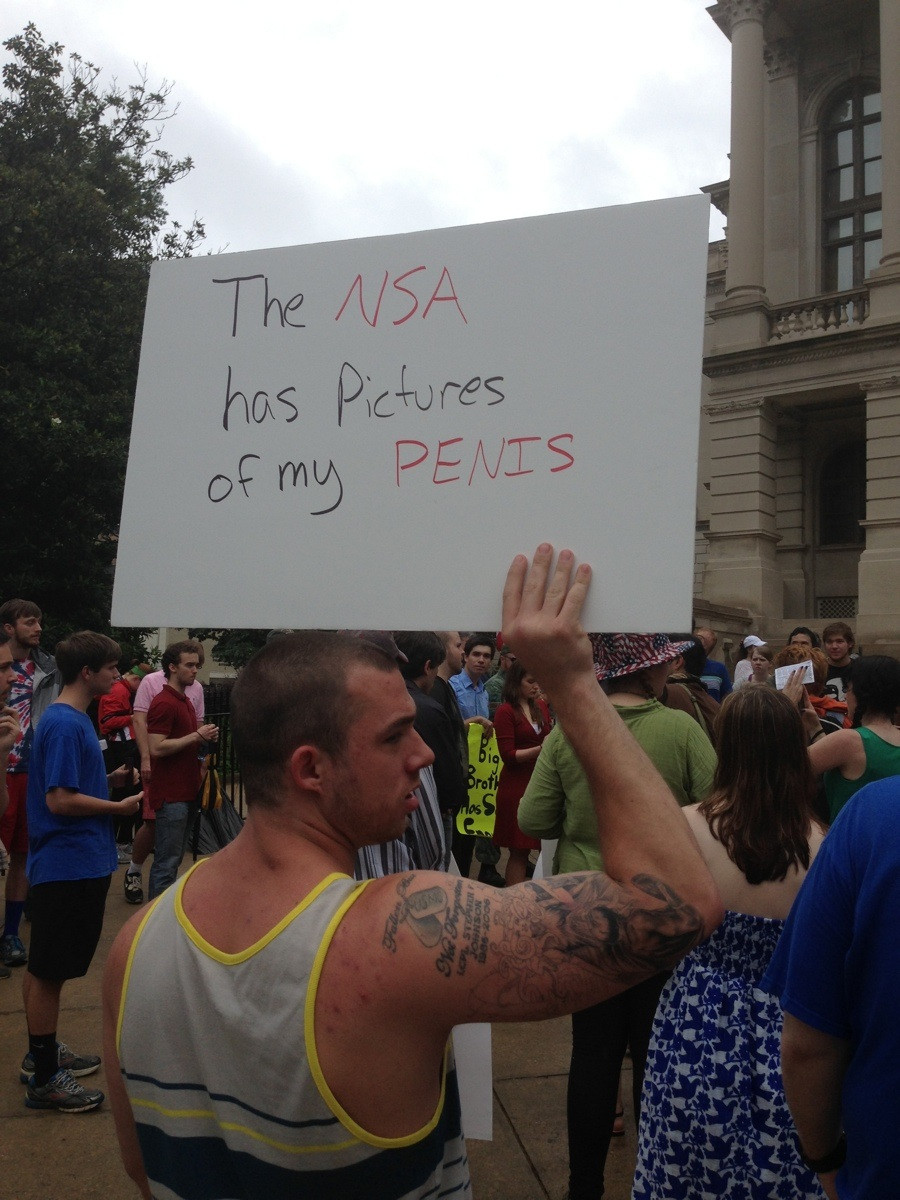 """40 Best Signs From The """"Restore The Fourth"""" Rallies"""