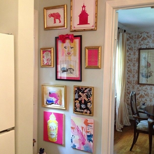 Use A Single Color That Appears In Every Frame To Tie Your Wall Together.
