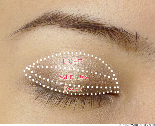 Eyeshadow Application For Asian Eyes 24