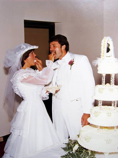 27 of the most amazing 80s weddings youll ever see 13 junglespirit Choice Image