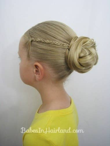 37 creative hairstyle ideas for little girls a gorgeous flower girl hairstyle get the directions here pmusecretfo Choice Image