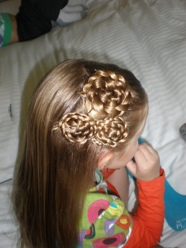 Magnificent 37 Creative Hairstyle Ideas For Little Girls Hairstyles For Women Draintrainus