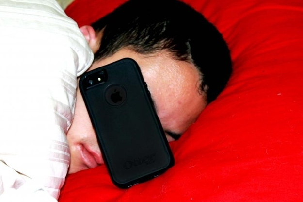 You sleep with your phone on your nightstand, or worse, IN your bed next to you.