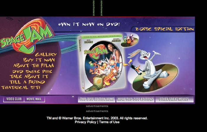 But the nostalgia doesn t end there  the Space Jam website hasn t been  updated in over 10 years. 8c320f687