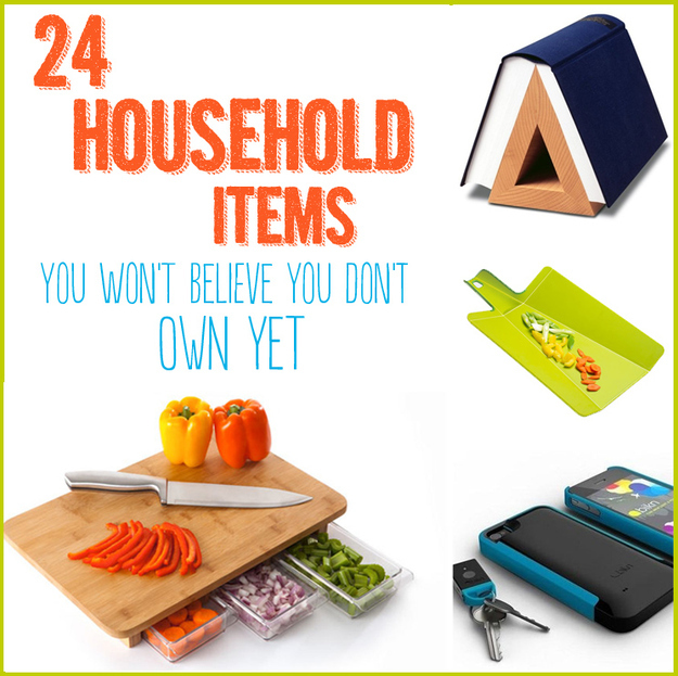 Home Items: 24 Household Items You Won't Believe You Don't Own Yet