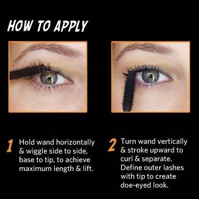 77d42099379 If you have especially fine or sparse lashes, put on mascara first so the  glue has something to stick to.