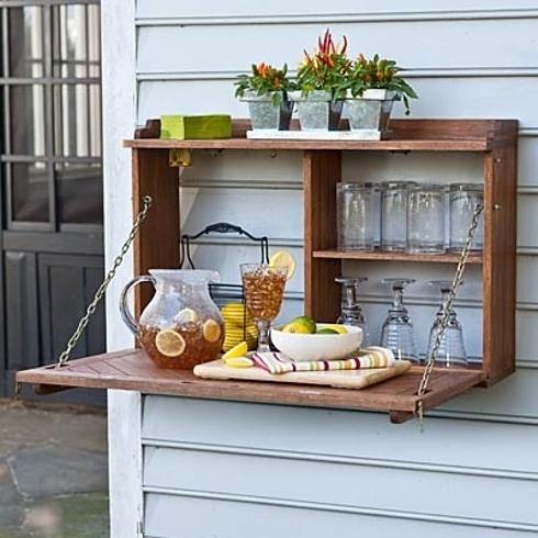 DIY barra colgante para el jardín