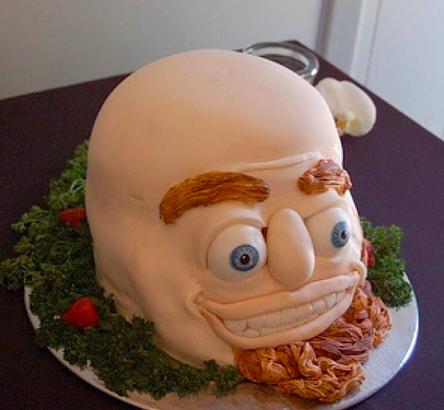 Esta cabeça em uma bandeja.