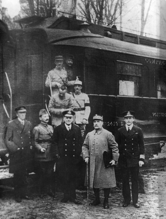 the signing of the armistice treaty with germany to end wwi Germany signed an armistice agreement with the peace treaty that officially ended the conflict—the exactly three years after the end of world war i.