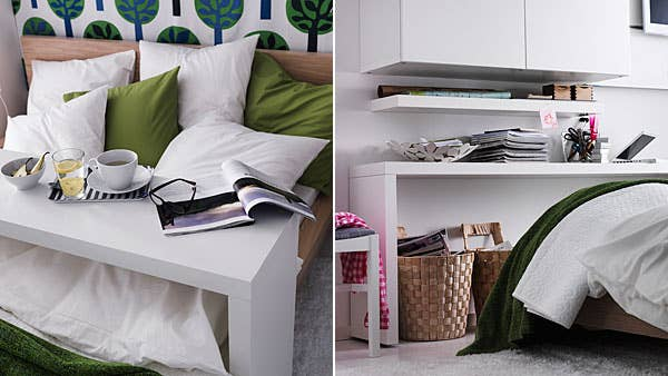 It's also perfect for those days when you just want to eat breakfast in bed. IKEA sells one for $129.