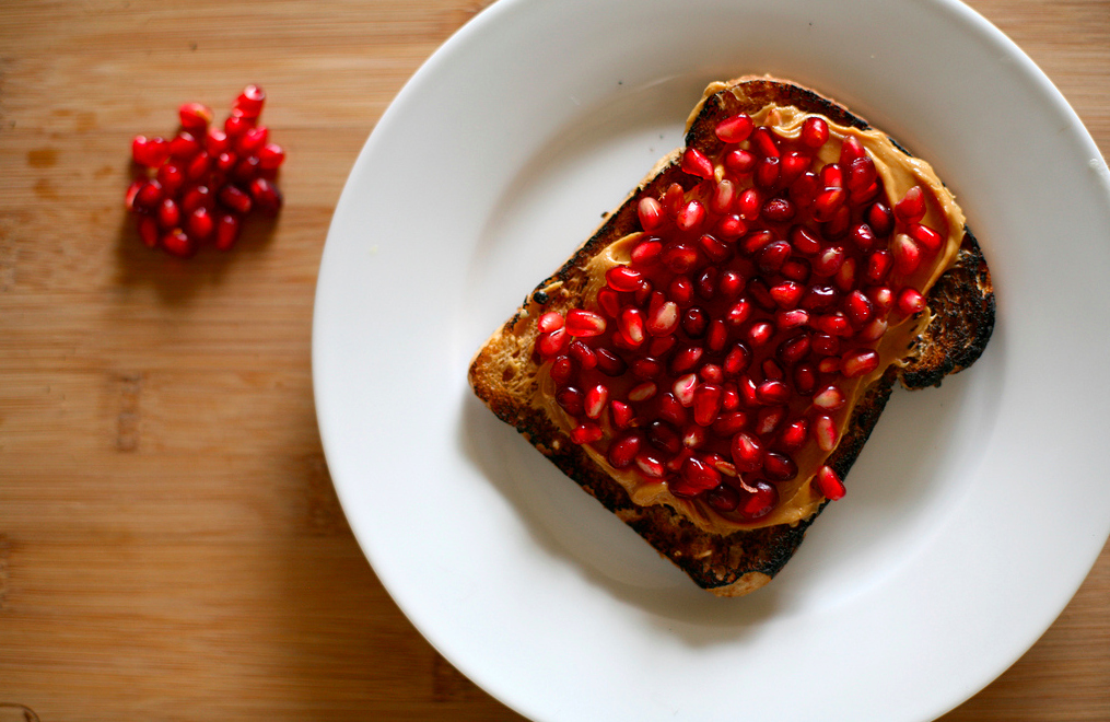 Pomegranate Sandwiches Are Totally A Thing