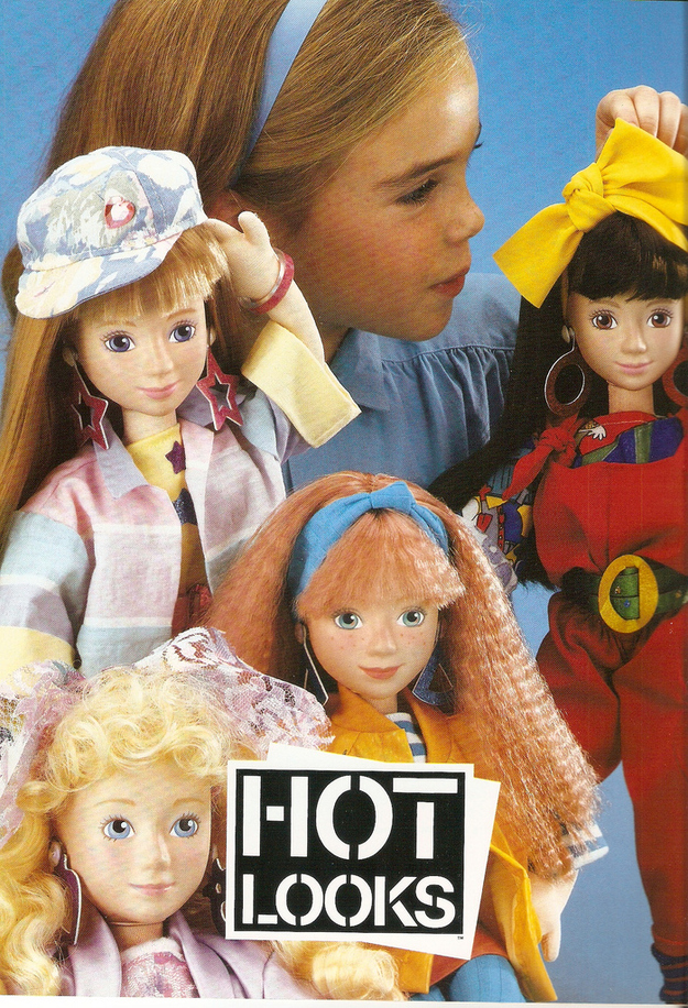 80s Toy Dolls : Totally forgotten s girl toy lines