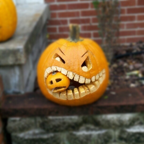 21 Clever Ideas To Vastly Improve Your Halloween Pumpkins