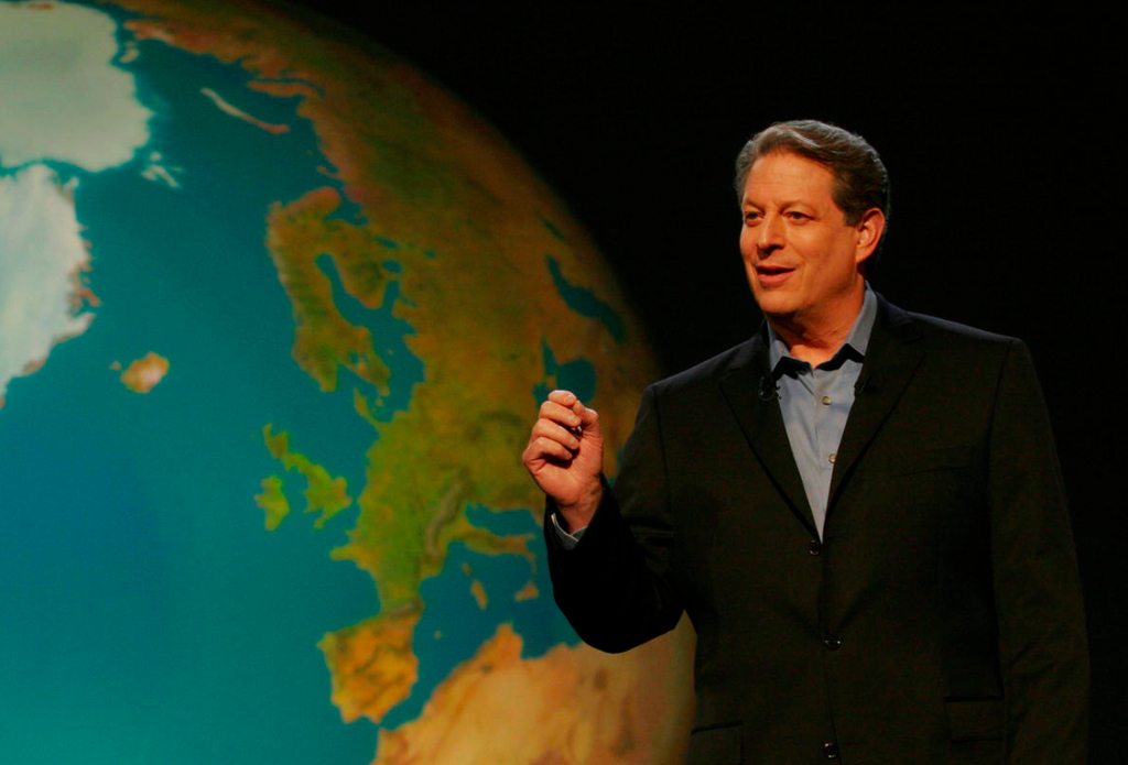 Al Gore's Incredible Shrinking Climate Change Footprint