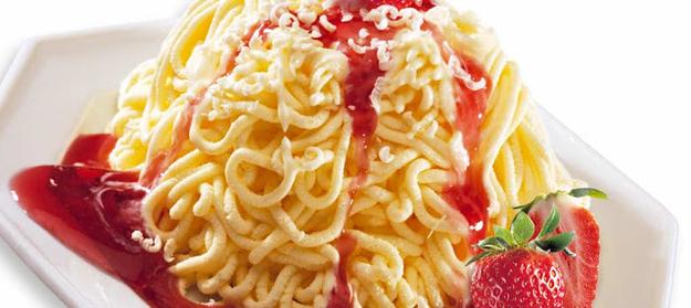Spaghetti Ice Cream Exists, Looks Like Heaven
