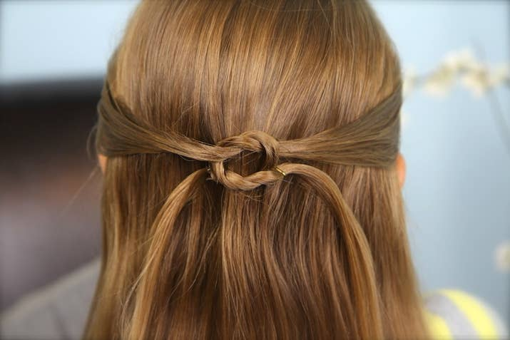 FiveMinute Hairstyles For Busy Mornings - Video girl hairstyle