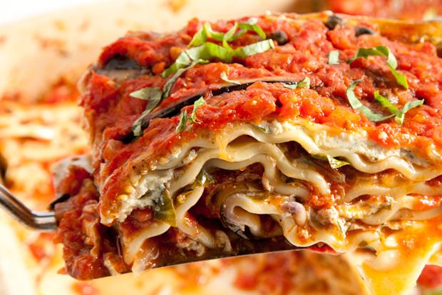 Tofu and Eggplant Lasagna