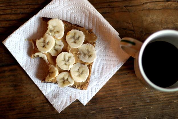 Wednesday Breakfast: PB&B Toast