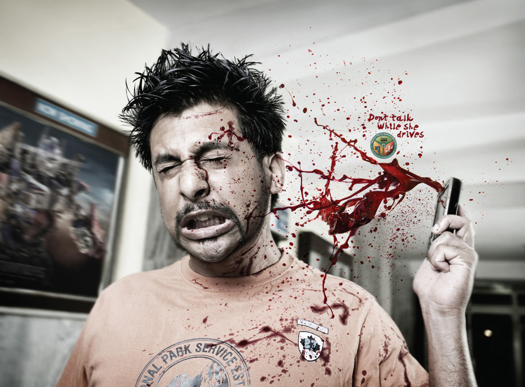 The Most Powerful Anti-Texting And Driving Image You'll Ever See