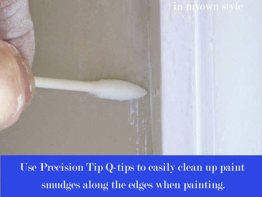 Precision Q tips are your friend. 47 Tips And Tricks To Ensure A Perfect Paint Job
