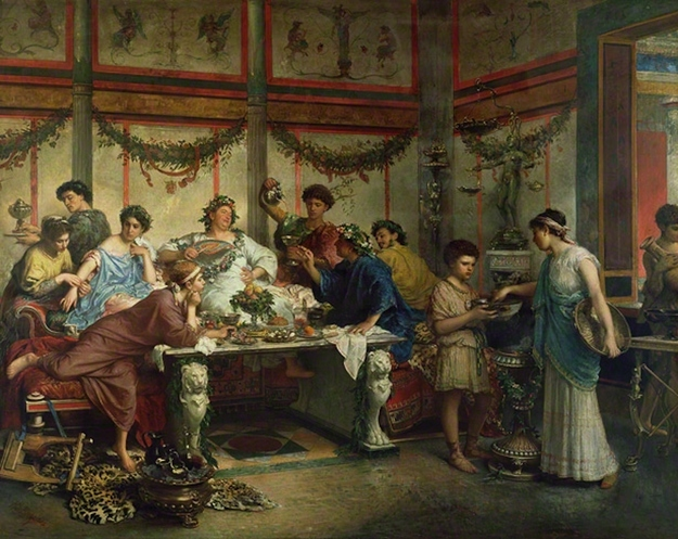 15 truly bizarre facts about ancient rome for Ancient greek cuisine history