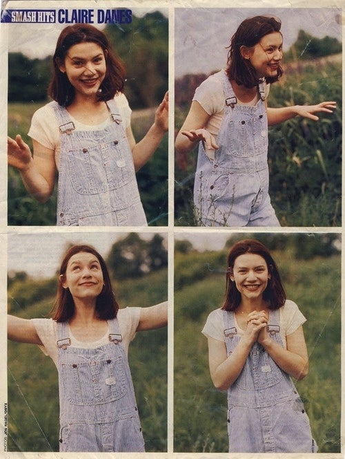 I mean, just look how adorable Claire Danes looks in them.