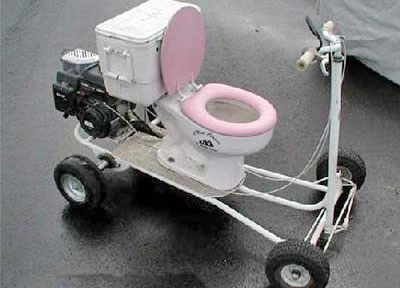 Toilet Senior Scooter