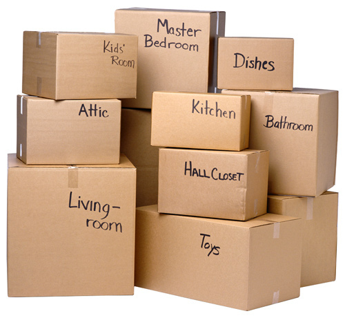Make sure everything is completely packed before your friends show up to help you move.