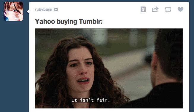 The Real Reason Yahoo Is Buying Tumblr