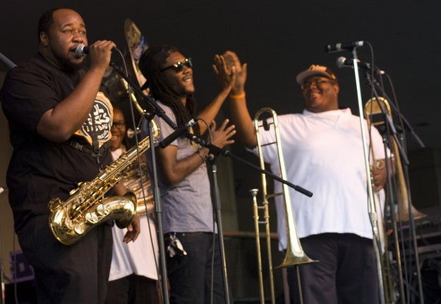 Rooted in the nation's first African American community, and also produced by the New Orleans Jazz & Heritage Foundation, this weekend is all about the brass band, like local heroes the Soul Rebels – known widely for mixing up their original materials with ridiculous all-brass reinterpretations of classic pop and hip-hop songs, like Michael Jackson's Billie Jean. The other star, of course, is the gumbo itself, which attendees can sample from world renowned-but-locally rooted purveyors like Lil' Dizzy's and Miss Linda the Ya-Ka-Mein Lady.