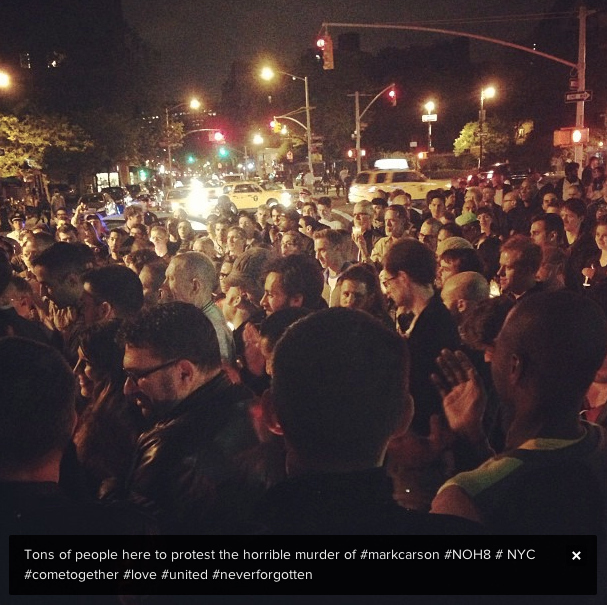 New Yorkers Mourn The Man Allegedly Murdered For Being Gay