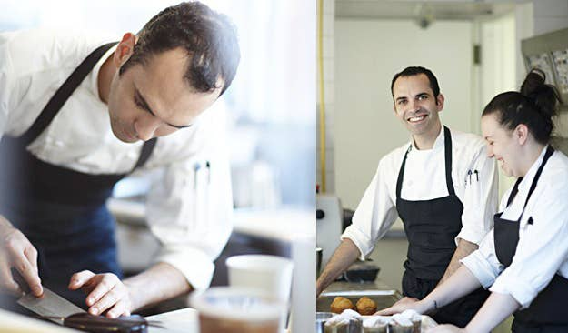 Ansel is a 2013 James Beard Award finalist for Outstanding Pastry Chef. And if there is any justice in the world, he should receive a Lifetime Achievement award for blessing this nation with the Cronut.