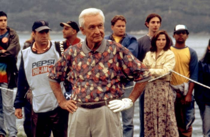 Not only that, but it's the most epic golf fight scene in movie history. It's also possibly the only golf fight scene in movie history.