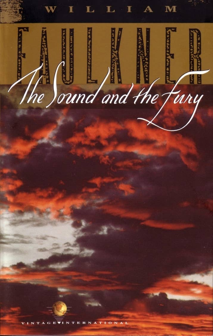 2 The Sound And The Fury By William Faulkner (1929)