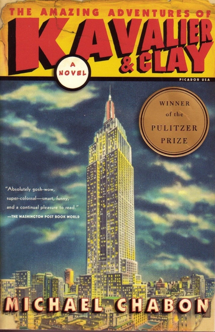 Jews, New York, World War II, superheroes, comics, Nazis, love: It's all here, in spades. One of the leading contenders for Great American Novel status.