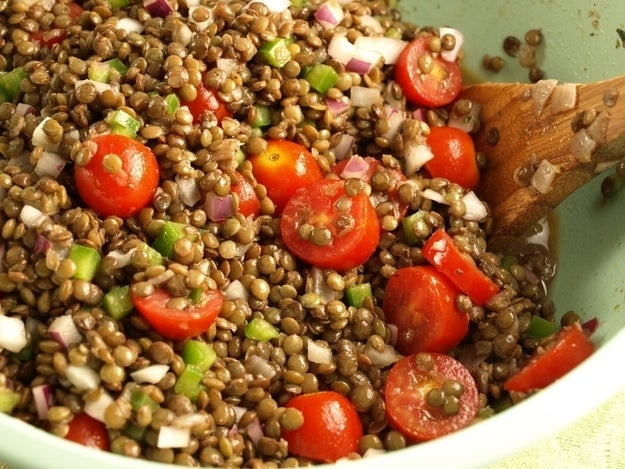 Substitute up to half the amount of beef with cooked lentils. You've save a little money and consume less fat and calories.