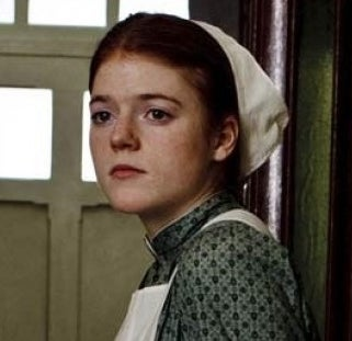 As Gwen Dawson on Downton Abbey