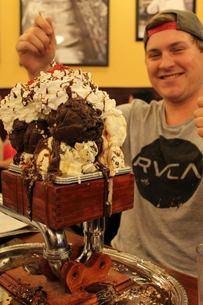 Everything But The Kitchen Sink Ice Cream the 18 most insane food challenges ever