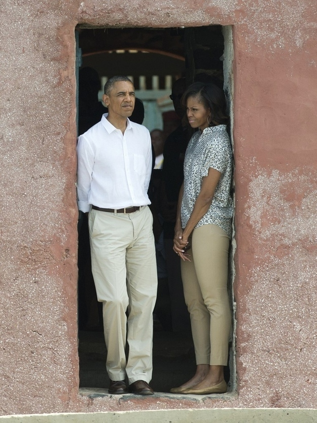 "7 Powerful Photos Of The Obamas Visting ""The House Of Slaves"""
