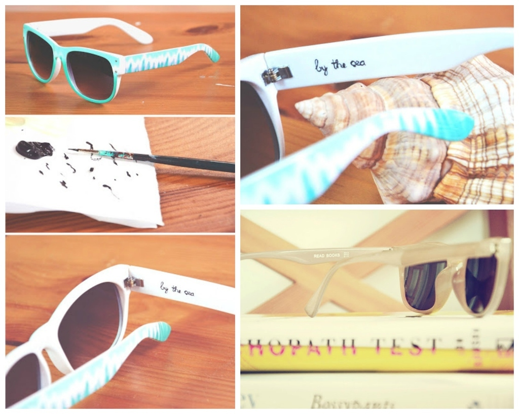 27 Inspired Ways To Decorate Your Sunglasses
