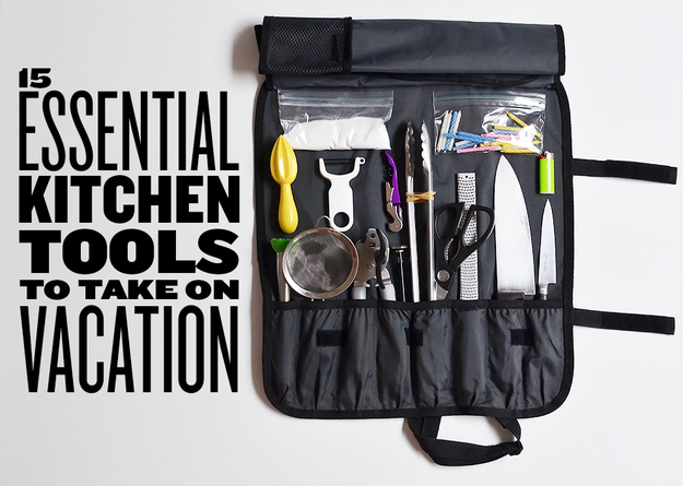 15 essential kitchen tools to take on vacation