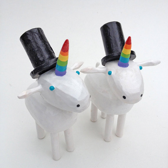 21 Cake Toppers For Your Fabulously Unique Gay Wedding