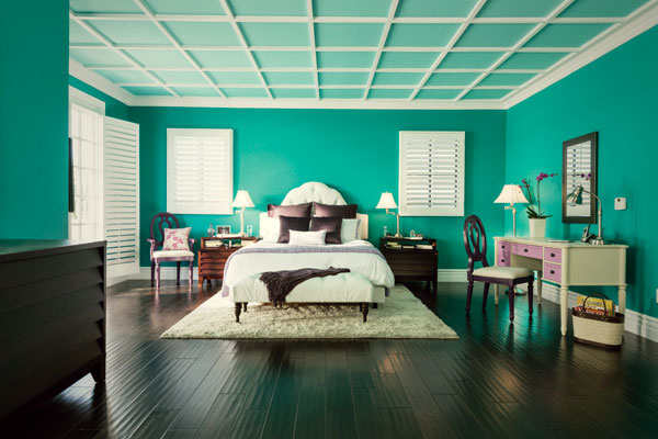 Delightful Gallery Of How Popular Paint Colors Look In Actual Rooms With Tropical  Colors.