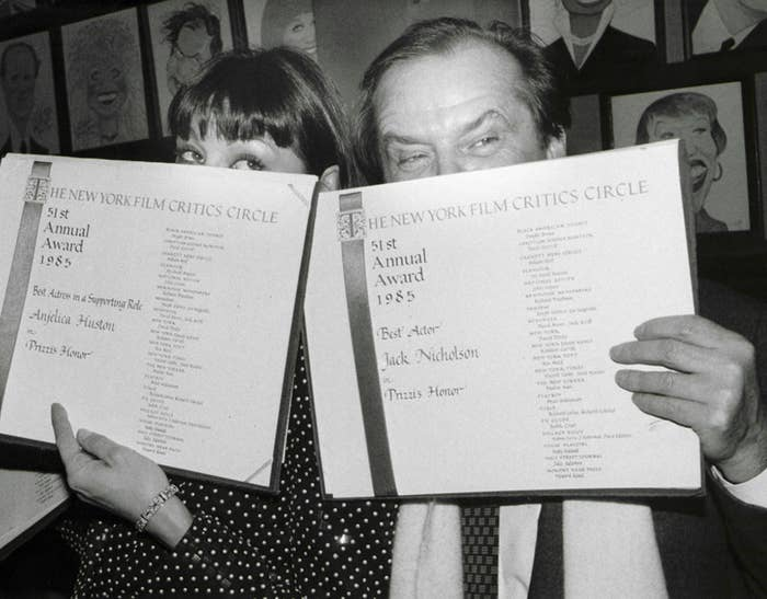 Jack Nicholson and Anjelica Huston Were The Coolest Couple