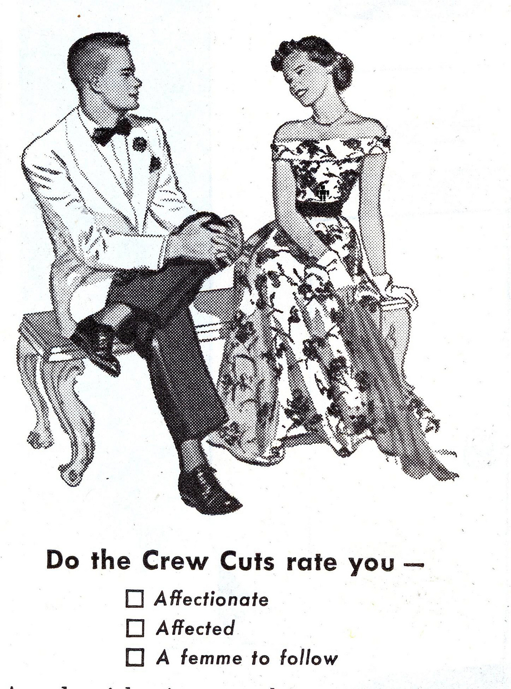 """dating advice in the 1950s Women keep hearing over and over from guys in different situations that men want to date and have relationships with a classy womanjust take a look at most of the men's dating profiles, and you will see that practically all of them want to meet and date a woman who has """"class""""."""