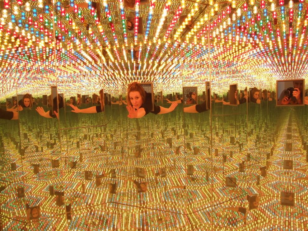 """Infinity Mirrored Room"", de Yayoi Kusama"