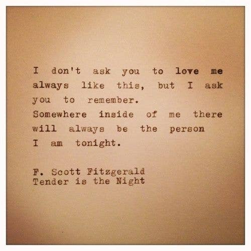 12 Quotes That Make You Wish Fscott Fitzgerald Would Write You A