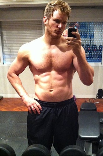 Chris Pratt in July 2013