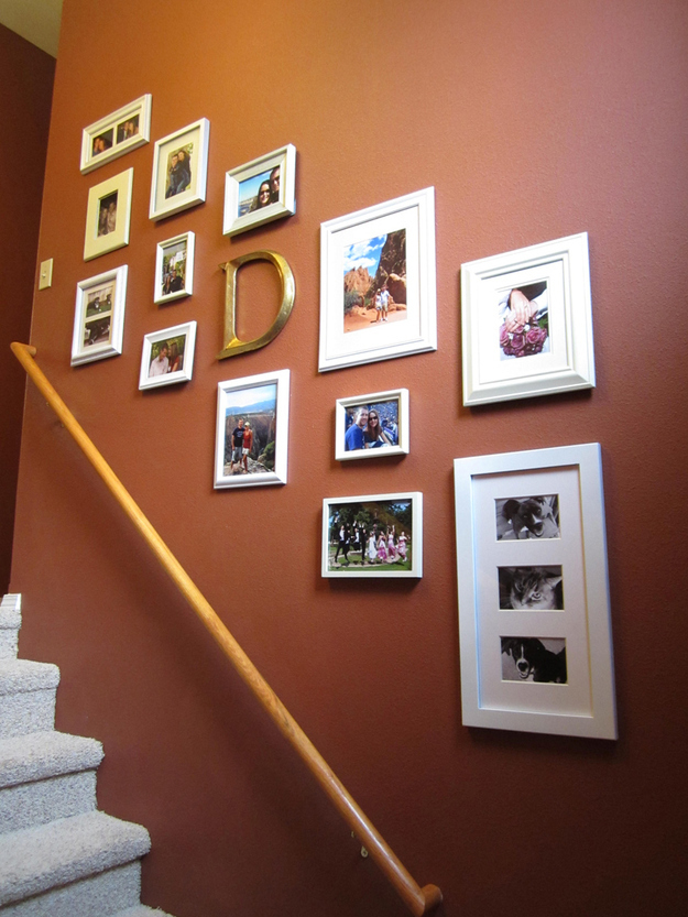 add a monogram to family photo galleries